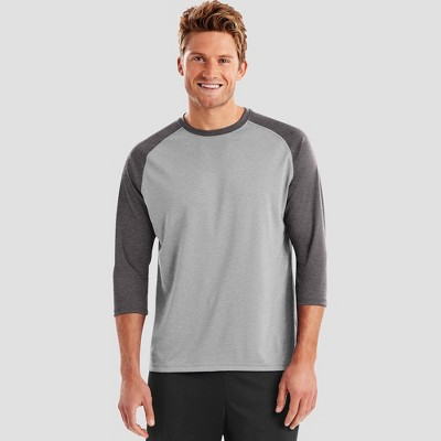Hanes Sport Men's Performance Baseball T-Shirt
