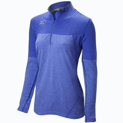Mizuno Women's Seamless 1/4 Zip Volleyball Jacket