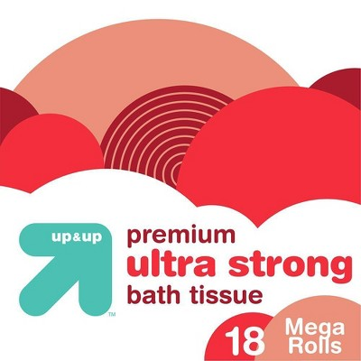 Premium Ultra Strong Toilet Paper - up & up™
