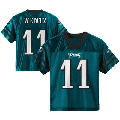 buy online 47293 34d65 Philadelphia Eagles Toddler Player Jersey 2T