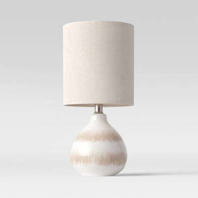 Medium Assembled Ceramic Table Lamp (Includes LED Light Bulb)White - Threshold™