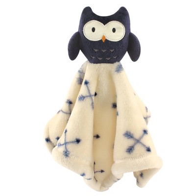 Hudson Baby Unisex Baby Animal Face Security Blanket