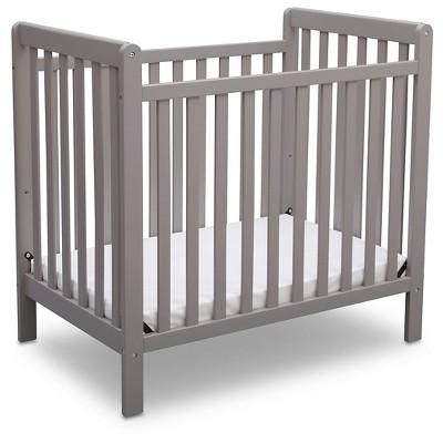 Delta Children® Mini Crib Classic - Gray