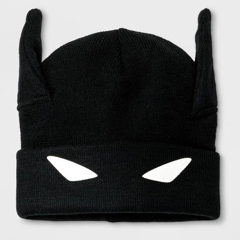 Boys  DC Comics Batman Cuffed Beanie - Black One Size   Target 4584499c897