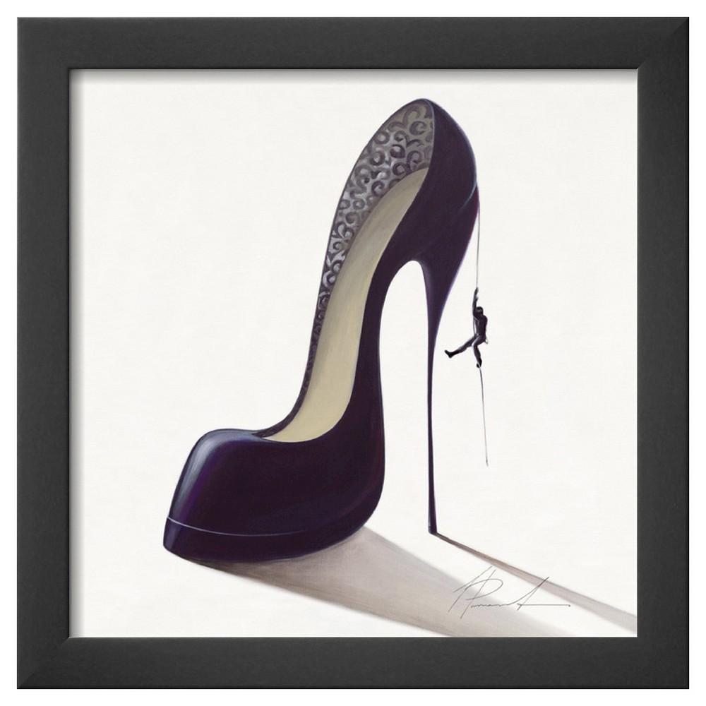 Art.com - Conquistatore Dolce -Framed Print, Aubergine