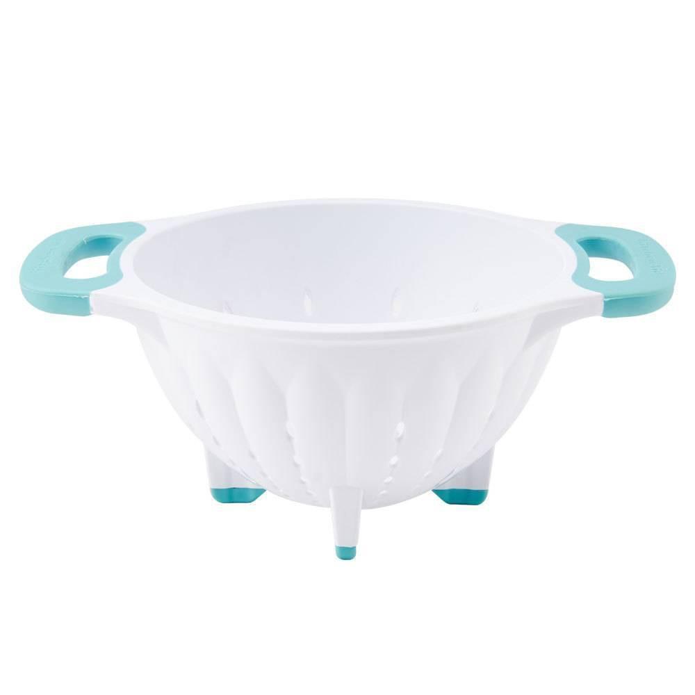 Kitchenaid 5qt Colander White Aqua Sky
