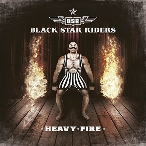 Black Star Riders - Heavy Fire (CD) - image 1 of 1
