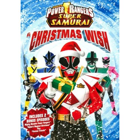 A Christmas Wish.Power Rangers Super Samurai A Christmas Wish