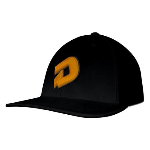 deeedcd8be73b DeMarini D Logo Baseball Softball Trucker Hat - Black Gold - S M ...