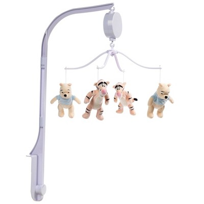 Lambs & Ivy Winnie the Pooh Hugs Musical Baby Crib Mobile