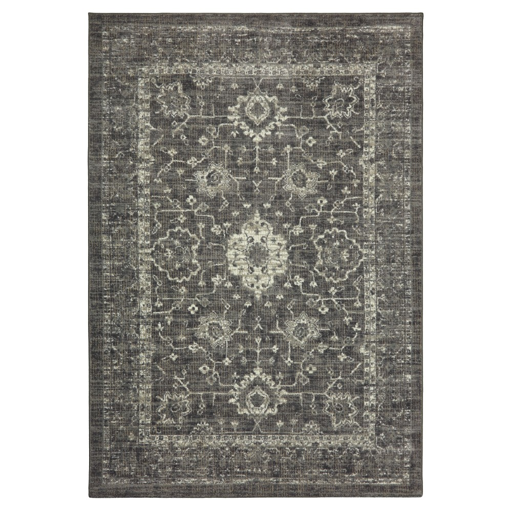 Gray Ombre Design Tufted Area Rug 10'x12' - Threshold