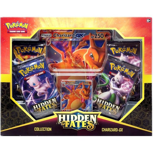 Pokemon Trading Card Game Sun and Moon Hidden Fates Charizard-GX Collection Box - image 1 of 1