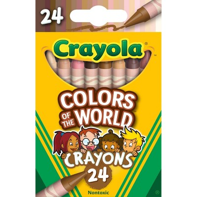Crayola 24ct Crayons - Colors of the World