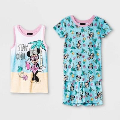 Girls' Minnie Mouse 3pc Pajama Set - Disney Store