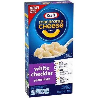 Kraft White Cheddar Macaroni & Cheese Dinner 7.03oz