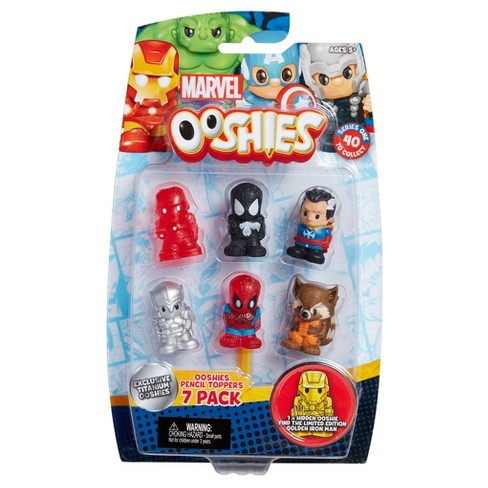 Ooshies Marvel Mini Figures 7pk - image 1 of 3