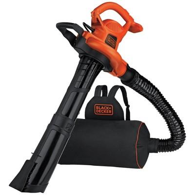 Black & Decker BEBL7000 3-in-1 VACPACK 12 Amp Leaf Blower, Vacuum and Mulcher