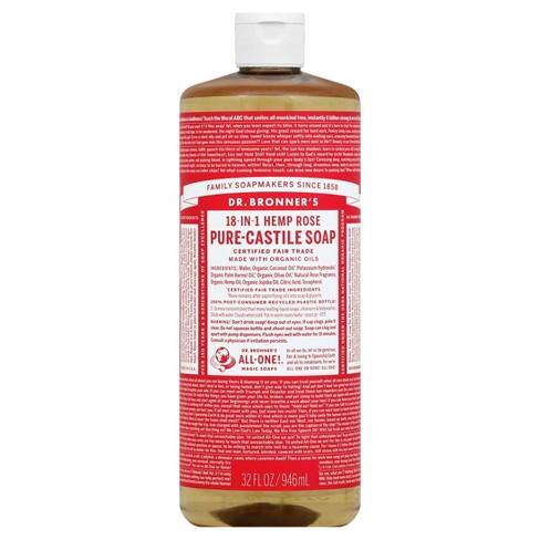 Dr. Bronner's Magic Soap - Hemp Rose - 32 oz - image 1 of 1