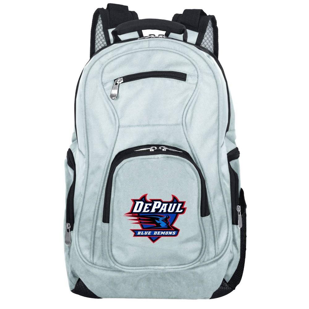 NCAA DePaul Blue Demons Gray Premium Laptop Bag