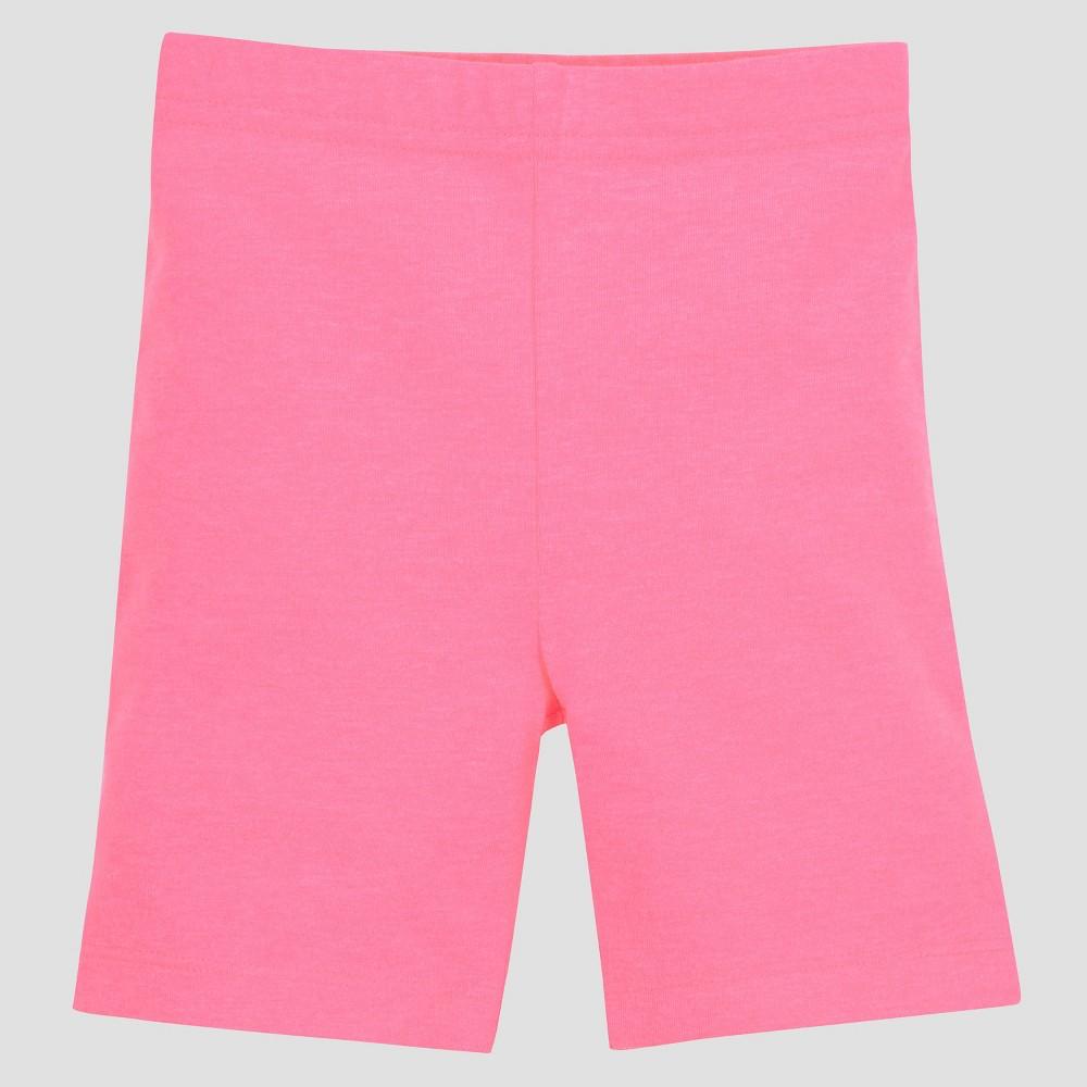 Image of Gerber Graduates Baby Girls' Bike Shorts - Pink 12M, Girl's, Size: Small