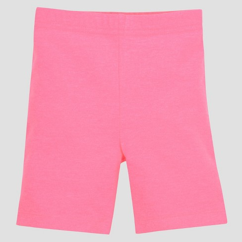 Gerber Graduates Baby Girls' Bike Shorts - Pink 12M - image 1 of 1