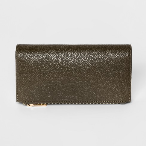 Women's Zip Fold-Over Wallet - A New Day™ - image 1 of 2