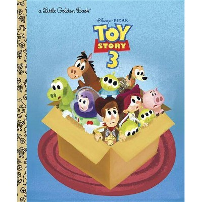 Toy Story 3 (Disney/Pixar Toy Story 3) - (Little Golden Books (Random House)) by  Annie Auerbach (Hardcover)