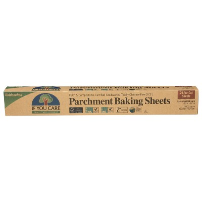 If You Care Parchment Food Wraps Sheets - 70 sq ft