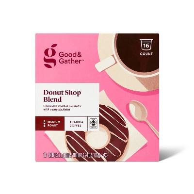 Donut Shop Medium Roast Single Serve Pods - 16ct - Good & Gather™