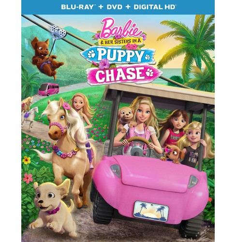 Barbie & Her Sisters in A Puppy Chase (Blu-ray/DVD) - image 1 of 1