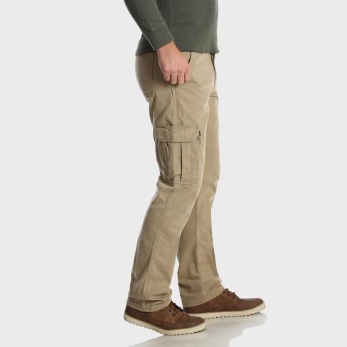 94412881 Wrangler Men's Cargo Pants - Camel 34x34 : Target