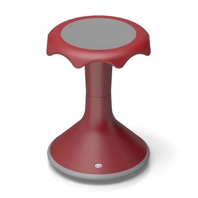 "VS America Hokki Stool Flexible Ergonomic Seating - 18"" Red"