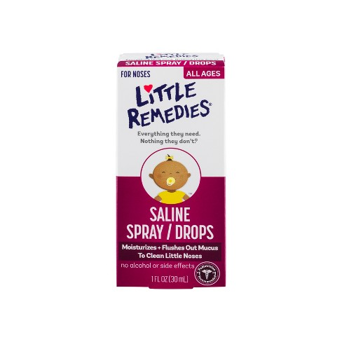 Children's Little Remedies for Noses Saline Drops - 1 fl oz - image 1 of 2