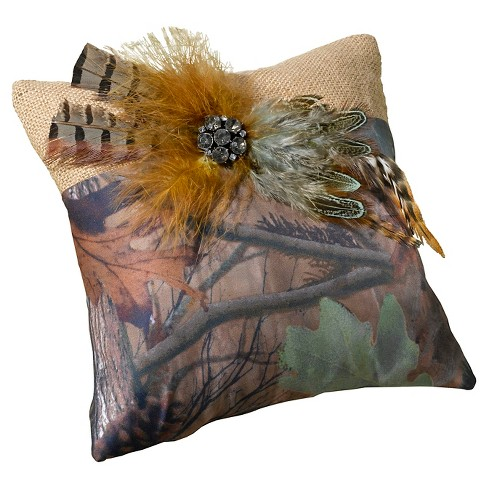 Camouflage Ring Bearer Pillow - image 1 of 1