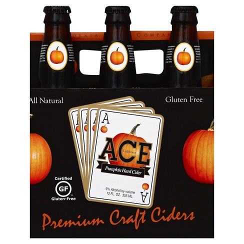 ACE Pumpkin Hard Cider - 6pk/12 fl oz Bottles - image 1 of 1