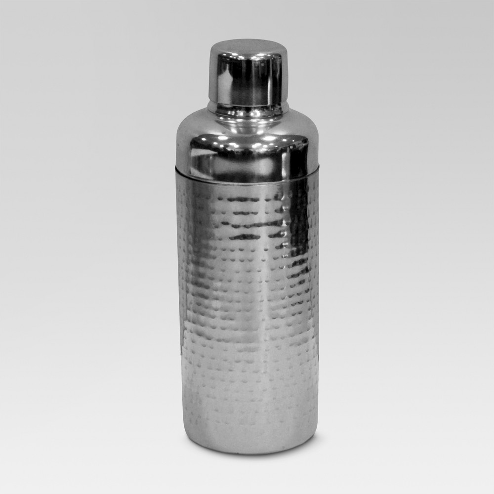 Image of Stainless Steel Hammered Cocktail Shaker - Threshold