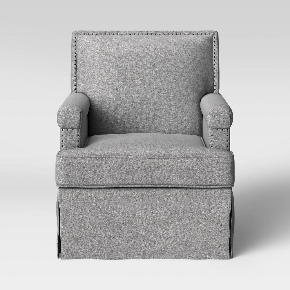 Sullivan Swivel Glider Chair Light Gray - Project 62