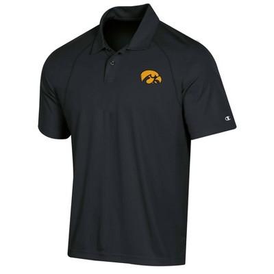 NCAA Iowa Hawkeyes Men's Polo Shirt