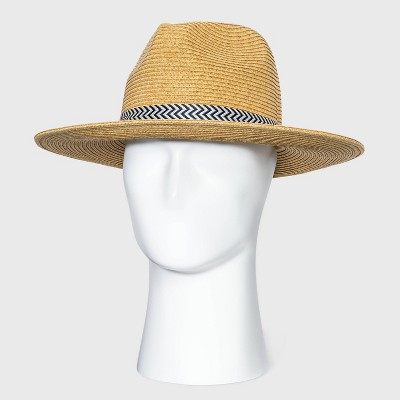 Men's Panama Hat - Goodfellow & Co™ Brown M/L