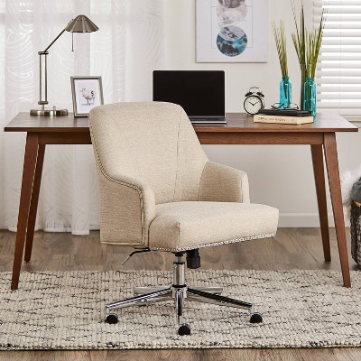 Leighton Home and Office Chair Beige - Serta