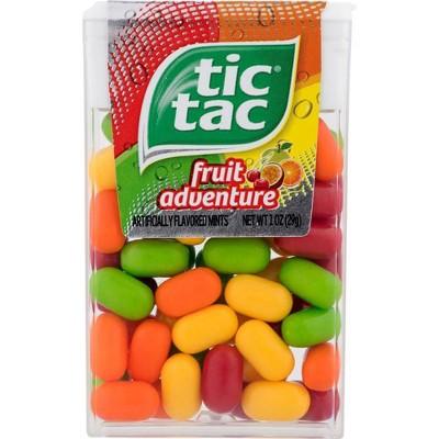 Tic Tac Fruit Adventure Mint Candies - 1oz