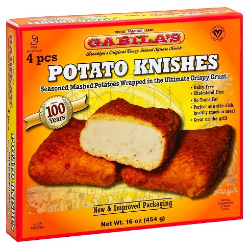 Gabila's Frozen Potato Knishes - 4pk - image 1 of 1