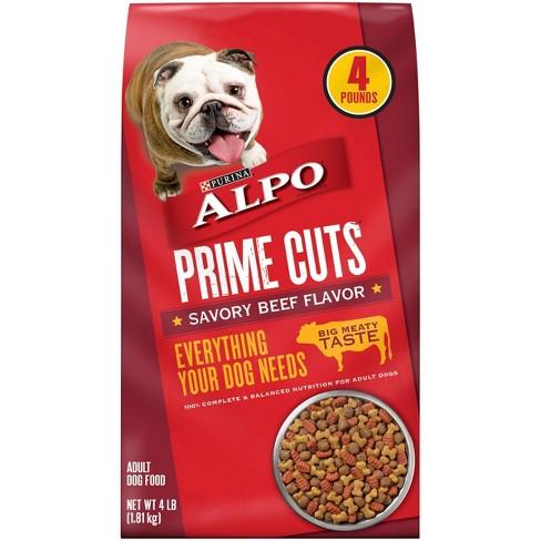 Purina Alpo Prime Cuts (Savory Beef) - Dry Dog Food - image 1 of 4
