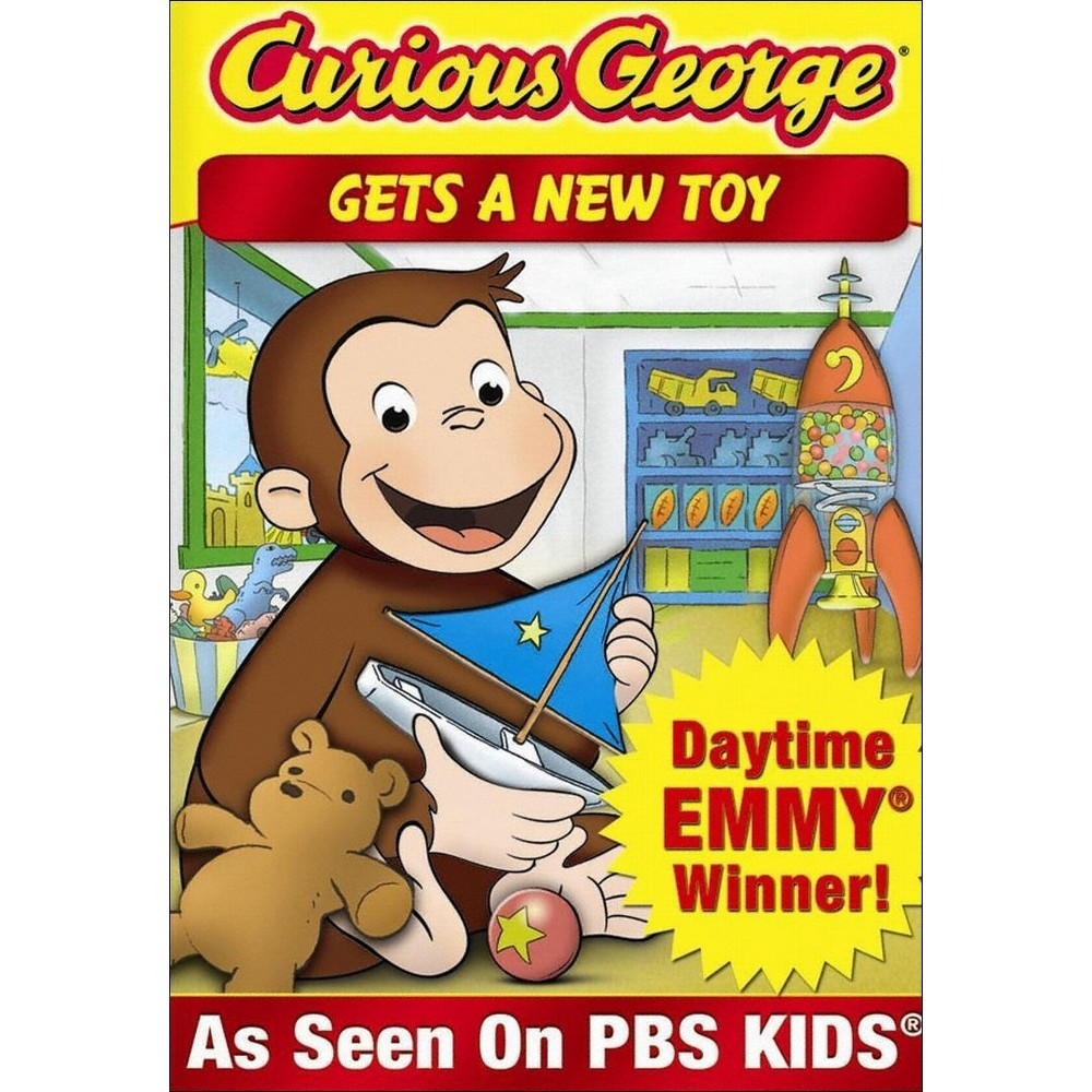 Curious George Gets A New Toy Dvd