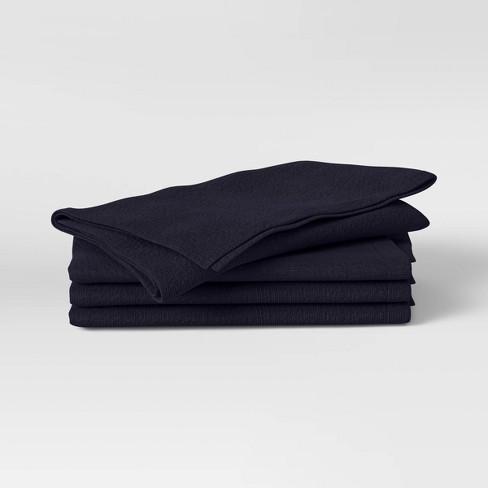 4pk Cotton Easy Care Napkins - Threshold™ - image 1 of 3