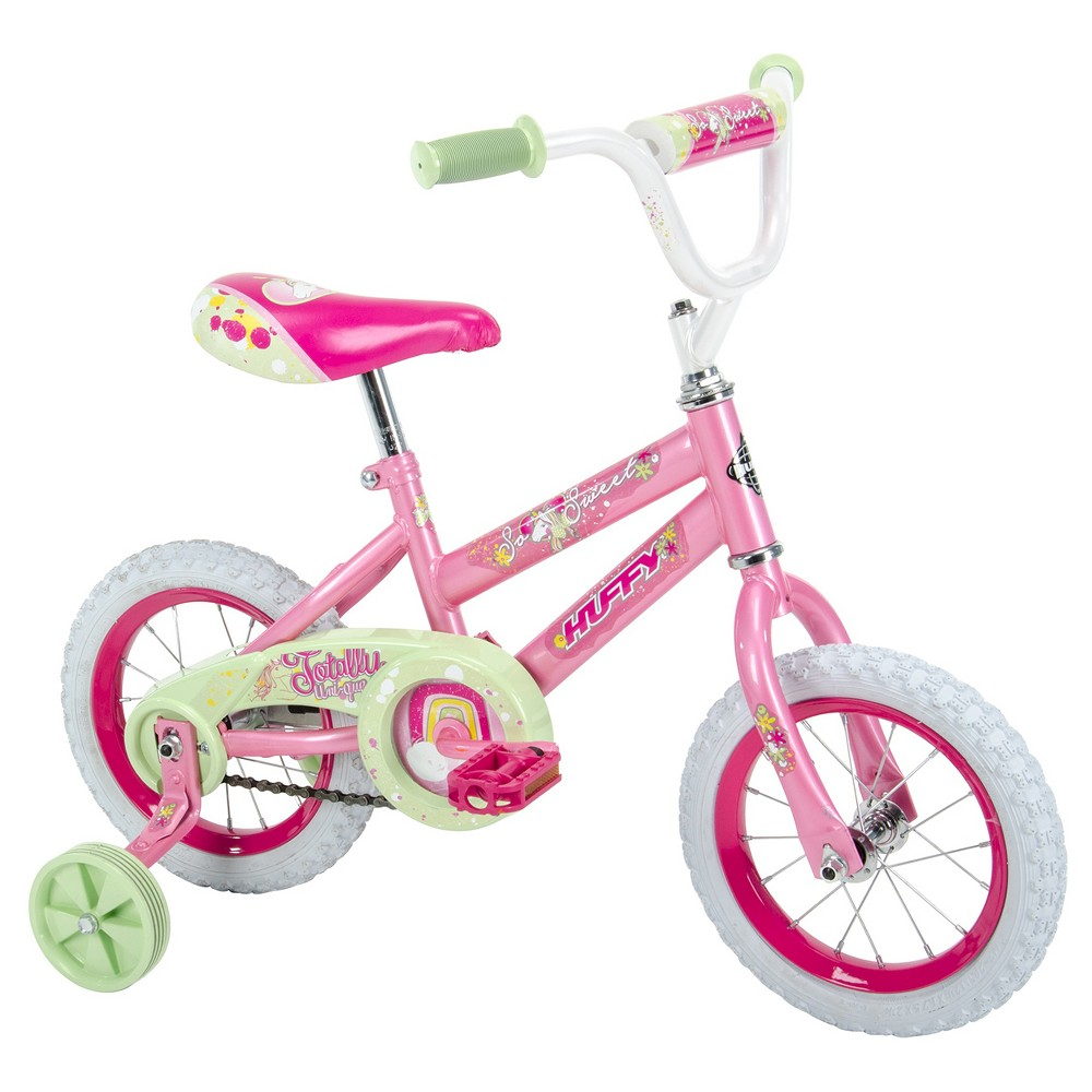 Huffy So Sweet 12 Kid's Bike with Training Wheels - Pink
