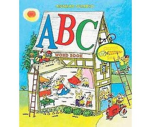 Richard Scarry's ABC Word Book (Reprint) (Hardcover) - image 1 of 1