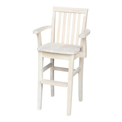 Mission Youth Dining Chair Unfinished - International Concepts
