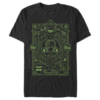 Men's Breaking Bad Walter Symbols T-Shirt