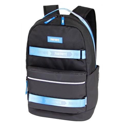 """Fortnite 19"""" Spectrum Backpack - Black/Blue - image 1 of 4"""